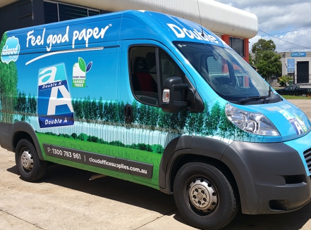 van wrap gold coast image