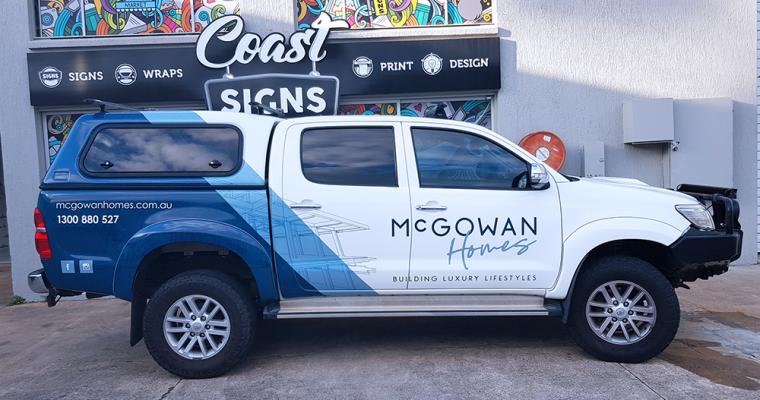 Vehicle Wrap Gold Coast 36