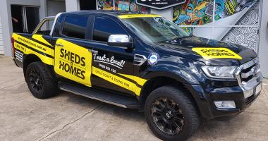 Vehicle Wrap Gold Coast 42