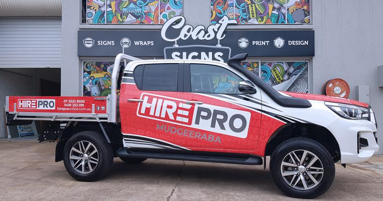 Vehicle Wrap Gold Coast 44