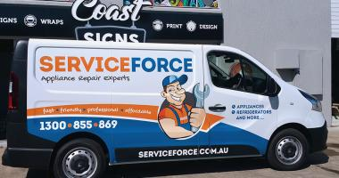 Vehicle Wrap Gold Coast 49