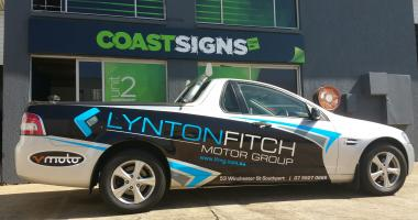 Vehicle Wrap Gold Coast 56