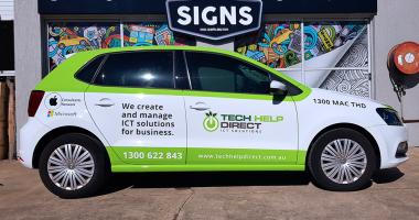 Z Vehicle Wrap Gold Coast 34