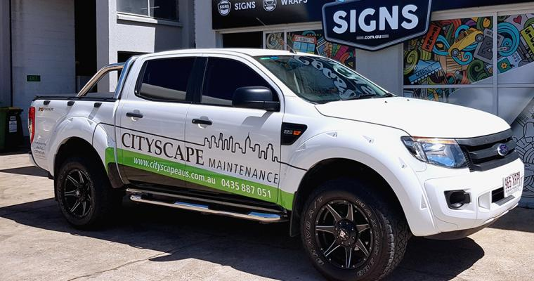 Z Vehicle Wrap Gold Coast 3