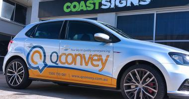 Z Vehicle Wrap Gold Coast 99